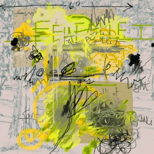 """Feu Follet (for Cy Twombly)"" – Louisiana has much in the way of history and myth, which would have appealed to Twombly. One such myth is that of the feu follet (FUH FOLAY), or swamp gas spirit, said to lure unwitting visitors to their water graves with their luminescence and the empty promise of safety in the darkness of the swamp. According to local myth, feu follets are said to be the spirits of unbaptized children. Did I mention that Louisiana folklore is kind of jacked-up in a lot of ways?"